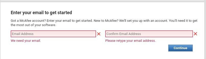 Free McAfee Internet Security download for 6 Months Free