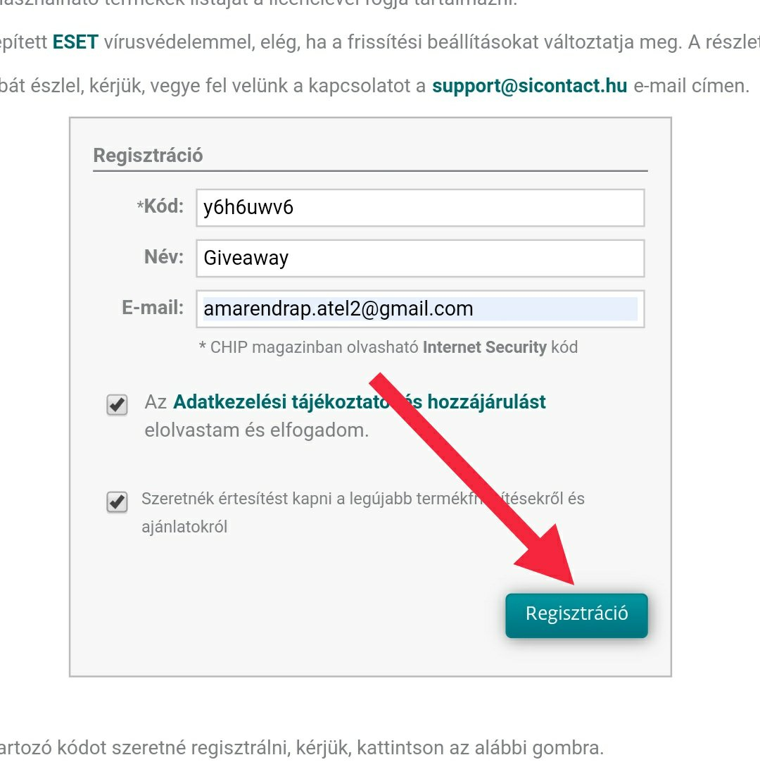 How to get eset Smart Internet Security for free